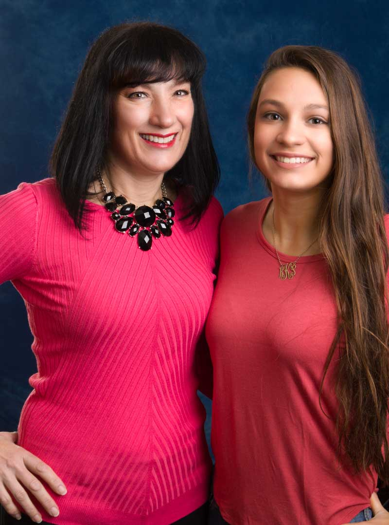 Wendy and daughter Kira are all smiles thanks to Lehigh Valley board certified orthodontist Dr. Michele Bernardich