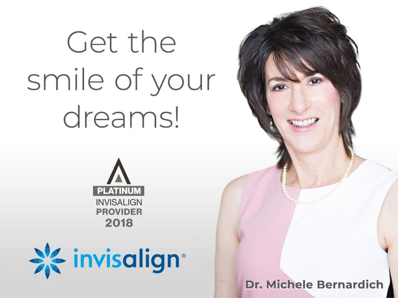 Allentown and Northampton PA Orthodontist Dr. Michele Bernardich is a 2018 Invisalign Platinum provider for the Lehigh Valley.